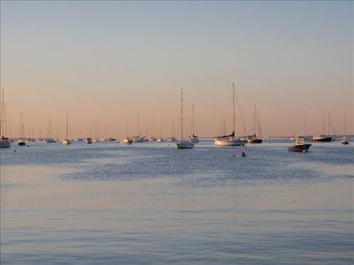 Mattapoisett house rental - View from Barstow Wharf across street
