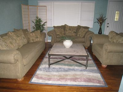 Safety Harbor house rental - Living Room