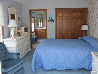 Moody Beach house photo - Air-Conditioned Guest Suite with Sitting Area & Access to Wrap-Around Deck