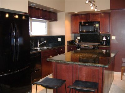 Fully Appointed Gourmet Kitchen