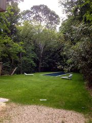 Sag Harbor house photo - Expansive lawn and complete privacy