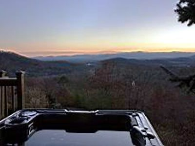 Enjoy Long Range Views from your own Hot Tub with