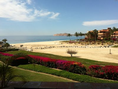 Casita Topaz Los Cabos Patio Beach View