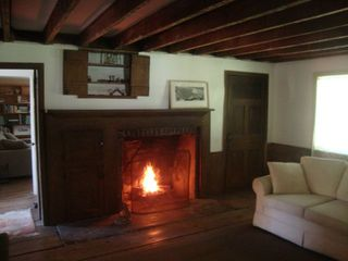 Patterson farmhouse photo - 19th Century Hearth makes Holiday dinners extra-special.
