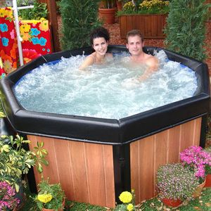 Hot Tub has been installed on Private Deck