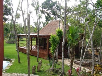 1 of 5 unique & charming guest houses at Taninah - none offered individually.