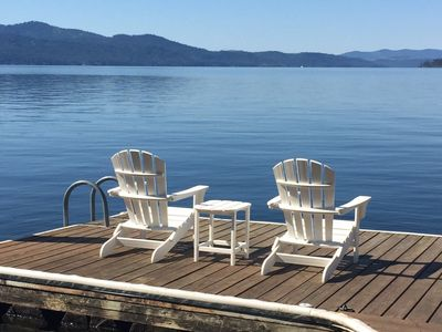 Beautiful Home with Deep Waterfront, Private Dock, Best Views on the Lake!
