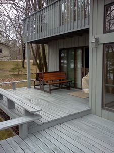 Walker Cabin Rental: Beautiful Lake Cabin Steps From The Water ...