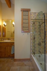 Olympic Valley house rental - Second Master Bath