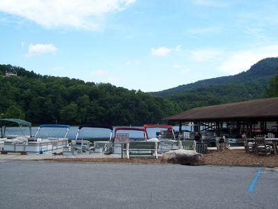 Lake Lure Marina
