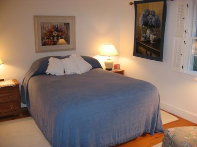 Master Bedroom, adjoining full bath, ample closets, sitting area