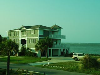 Fripp Island estate photo - House from the golf course