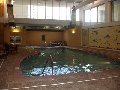 Indoor Pool/Hottub