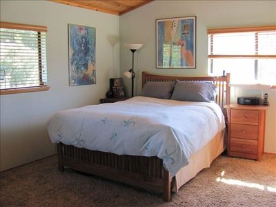 Master bedroom-- cozy and comfortable