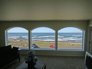 Seaside townhome rental - The view is breathtaking! 3rd floor den OCEAN VIEW