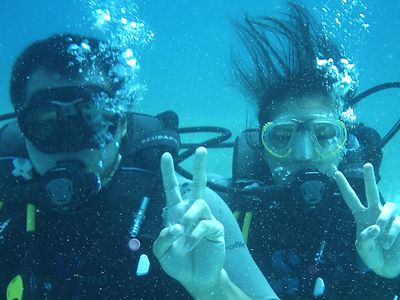 Go SCUBA diving or snorkeling