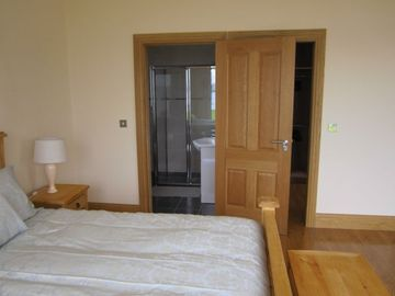 Master bedroom with en-suite and walk in dressing room