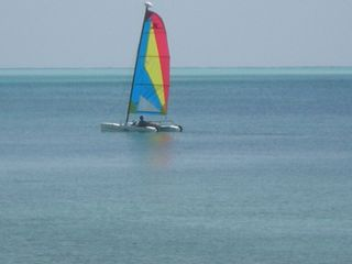 Grand Bahama Island cottage photo - Sailing off of our Beach available