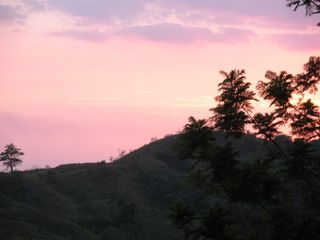 Quepos cabin photo - Sunsets from your Cabin