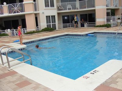 Blue Mountain Beach condo rental - heated swimming pool