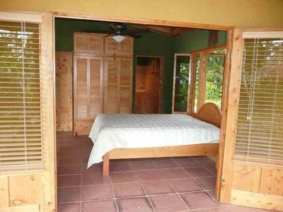 Uvita house rental - Mahi-Mahi Bedroom with private bathroom