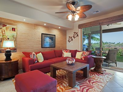 Luxury Mauna Lani Condo, private beach club, free WiFi, HD TV
