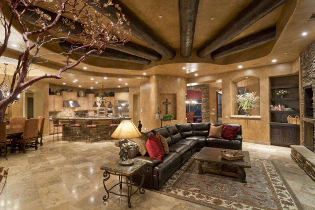 Custom Southwest Dream Home Offers Ideal...