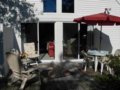 Carriaige House outside deck