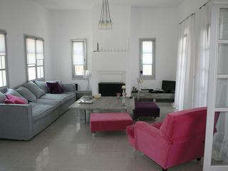Kea villa photo - living room with TV and Audio facilities