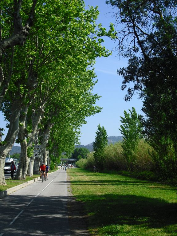 Cycle path to Sainte Maxime/ Saint Tropez