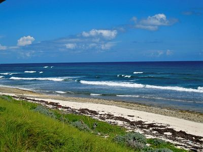 Elbow Cay and Hope Town house rental - Abaco Vistas bluff view overlooking beach