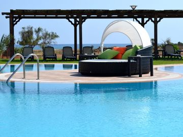 Luxury Beach Resort Penthouse Apartment with fantastic sea and mountain views