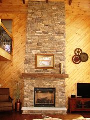 Lake Wallenpaupack house photo - Fireplace