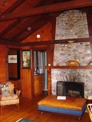 Harbor Springs lodge photo - Blisswood-Perch Living Room