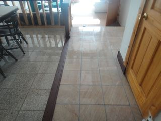 Oneida Lake house photo - new marble flooring