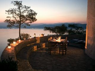 Hydra Island house photo - Sunset dinner