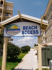 Indian Shores condo photo - Private Beach Access