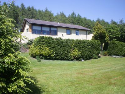 Detached Holiday Home with spectacular views of Dornoch Firth.