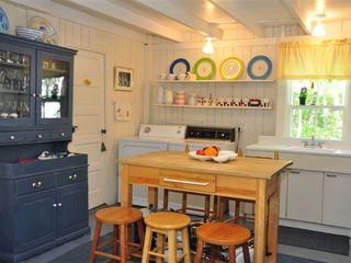 Oak Bluffs house photo - Kitchen w/ full laundry