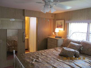 New Port Richey mobile home photo - Master Bedroom and Master Bath
