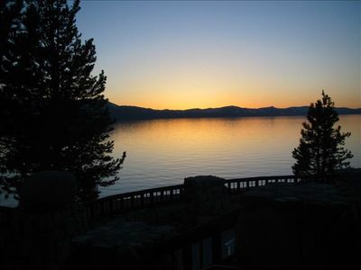 Lake Tahoe Sunset @ The Edgewood Golf Course Restaurant