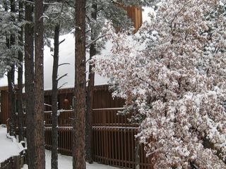Ruidoso house photo - Snow covered mountain home