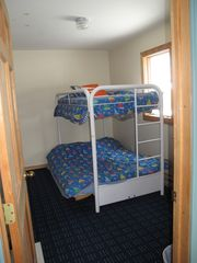 Pentwater cottage photo - Main floor bedroom. Perfect for children!