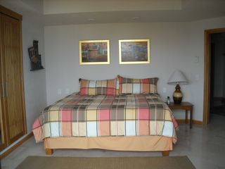 Nuevo Vallarta condo photo - Bedroom Suite 2 - King size bed - has private terrace and bathroom