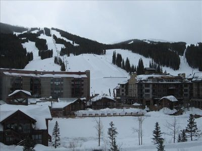 Copper Mountain - View from Spacious Living Room