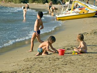 Syros apartment photo - ideal beach for children