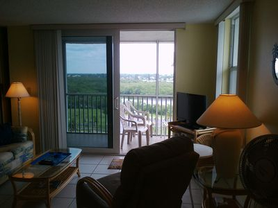Enjoy the top floor view from the lanai of 3001. The views are spectacular!