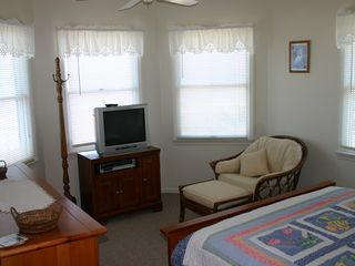 Chincoteague Island townhome photo - Master Bedroom