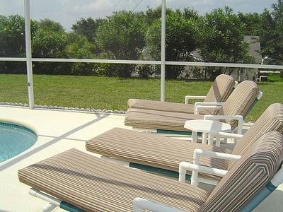 Pool Deck Loungers