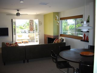 Palm Springs condo photo - View from dining area out to balcony